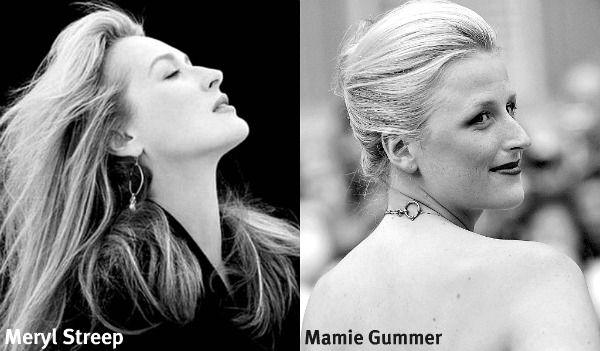 Mamie Gummer and her mother Meryl Streep.