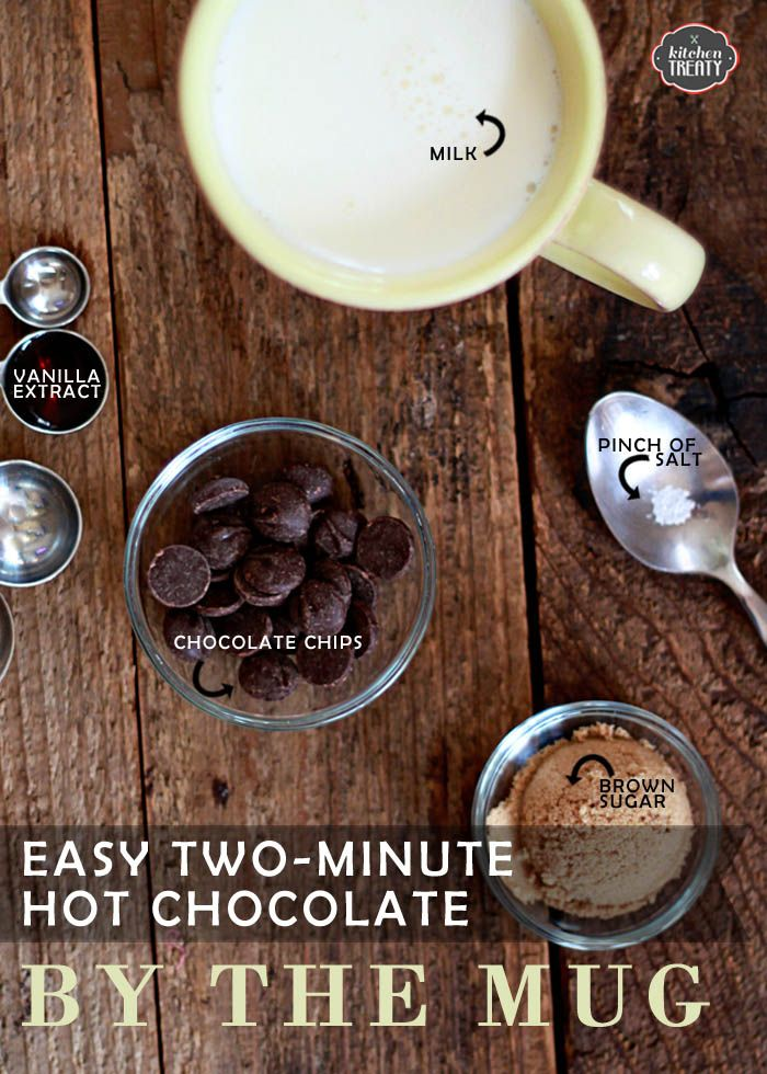 Two-Minute Hot Chocolate By the Mug