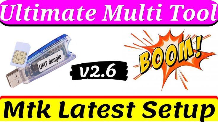 UMTv2 UMTPro UltimateMTK v2.6 Released More Devices