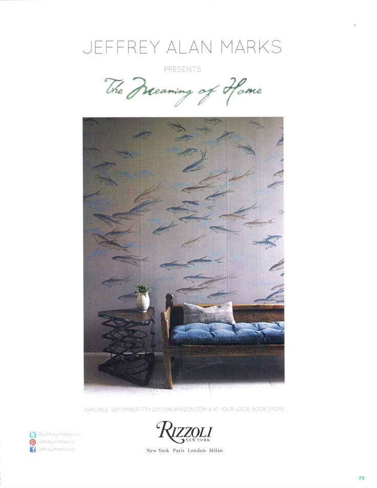 The Meaning of Home by Jeffrey Alan Marks is available now for pre-order on Amazon.  http://www.amazon.com/gp/product/0847841022/ref=s9_psimh_gw_p14_d4_i1? pf_rd_m=ATVPDKIKX0DER_rd_s=center-2_rd_r=168A6M46VS4Z5S9CGDYP_rd_t=101_rd_p=1389517282_rd_i=507846   #jeffreyalanmarks #JAM #homedecor