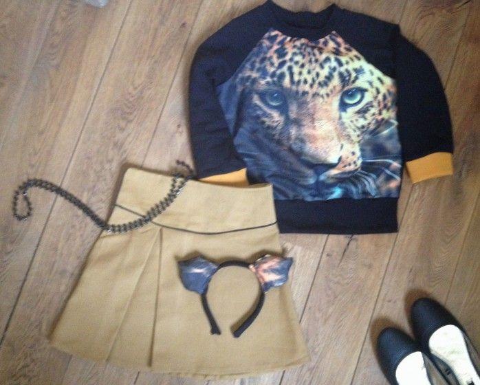 Safari outfit voor in de klas