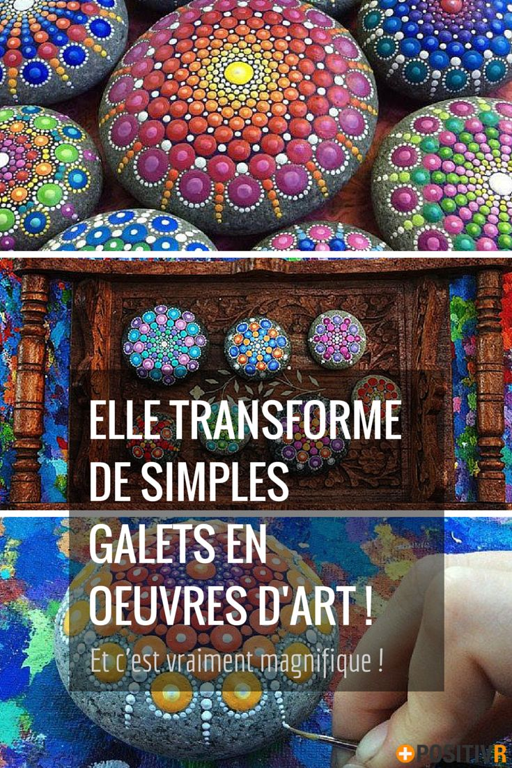 Elspeth McLean est une artiste peu ordinaire. Elle n'a pas choisit de peindre non pas sur des toiles ou du papier. Non, elle peint sur des galets ! Et la transformation de ces pierres est vraiment extraordinaire ! #art #peinture #ElspethMcLean #galets