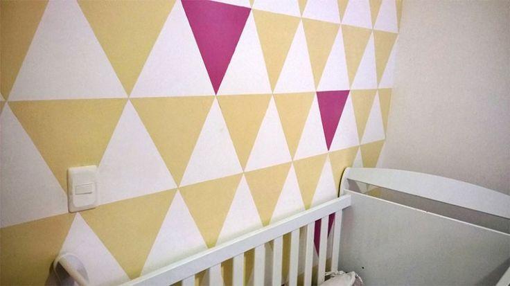 Padrões geométricos são uma opção fácil de pintura para quem quer por a mão na massa. Eu mesmo pintei o quarto da minha filha Sarah num padrão de triângulos nas cores areia e roxo de forma super fácil e sem muita complicação (como você pode ver na foto acima). Entre os padrões geométricos, o que …