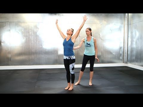 Morning Yoga Poses For Energy, Tara Stiles Fitness, Fit How To