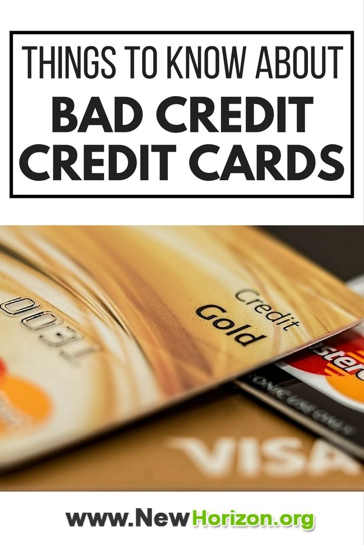 In general, here are the things you should know with regards to credit cards extended to people with poor credit.