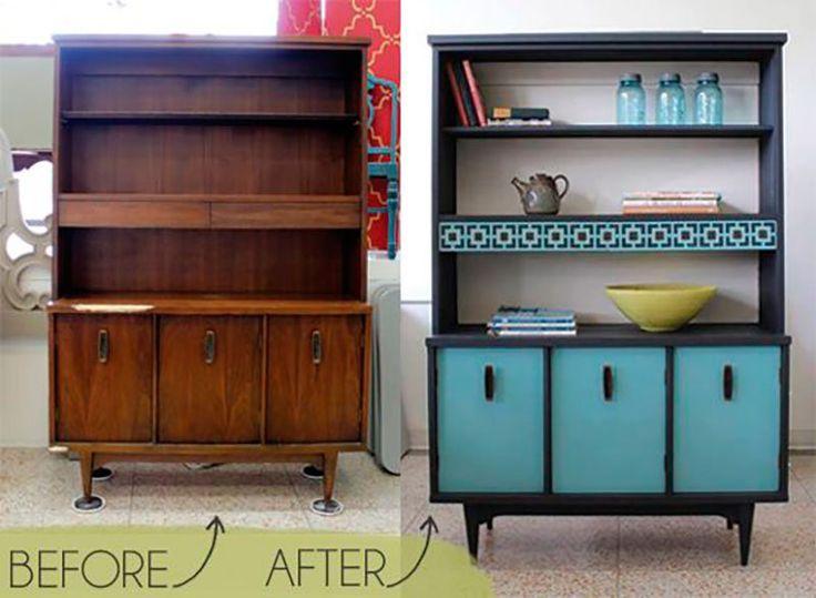 Só de olhar para alguns móveis antigos espalhados pela casa temos vontade de jogar tudo no lixo e comprar peças novas. Mas fazer isso além de custar bastan