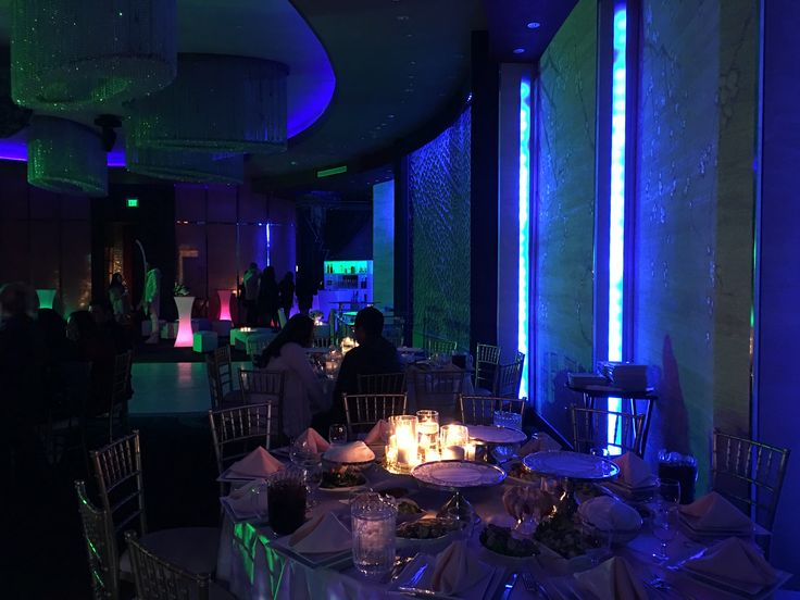 high tech lighting. high tech lighting, modern décor and classic elegance all in one place. #impressionsbanquethall lighting