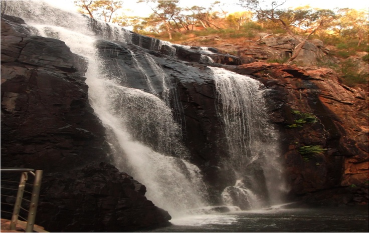 McKenzie Falls in Victoria - @Flinders University blogger Thozama takes time out of Adelaide to explore Australia.