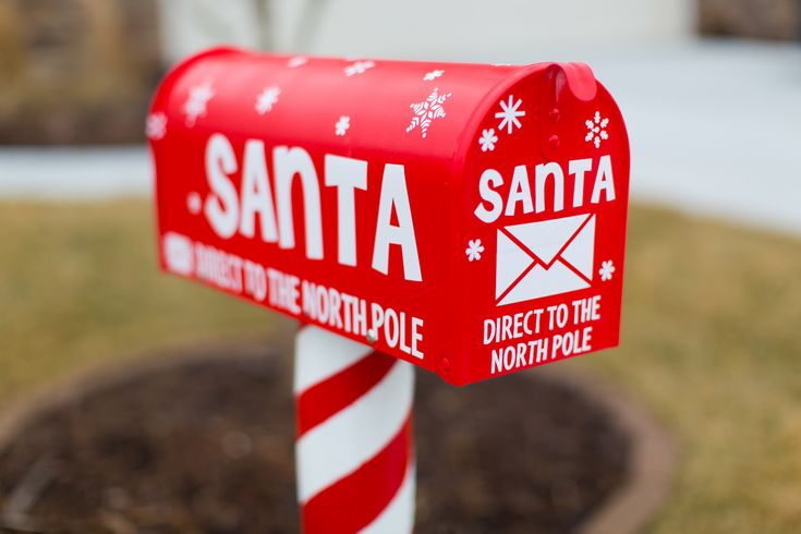 Santa's North Pole Mailbox « Santa Ames