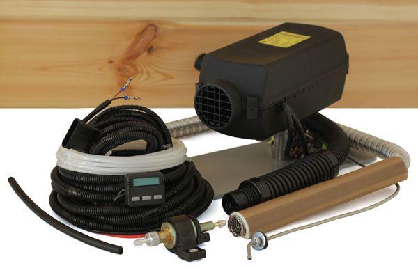 Night Diesel Air Heater Planar 2d 2kw 12v 24v Electronic