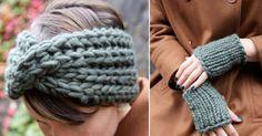 Lavori all'uncinetto: fascia per capelli (Foto 24/39) | PourFemme