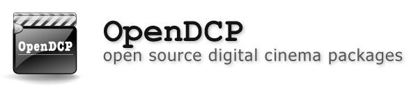 OpenDCP - open source digital cinema packages