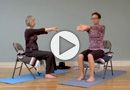 FREE Gentle Chair Yoga for the Neck & Shoulders: This is a practice that can be done sitting in a chair in your home or office, any time of the day. It's designed to relieve tension particularly in the neck and shoulders, but will provide relief in the whole body.