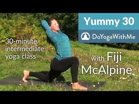 Power Yoga with Fiji McAlpine: Vinyasa for Vitality - YouTube