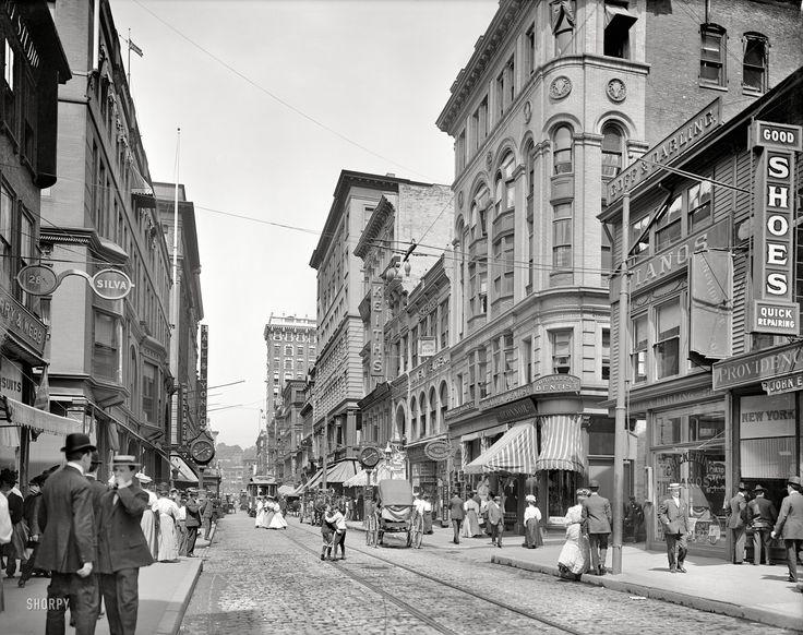 Providence Rhode Island Circa 1903 Quot Westminster Street
