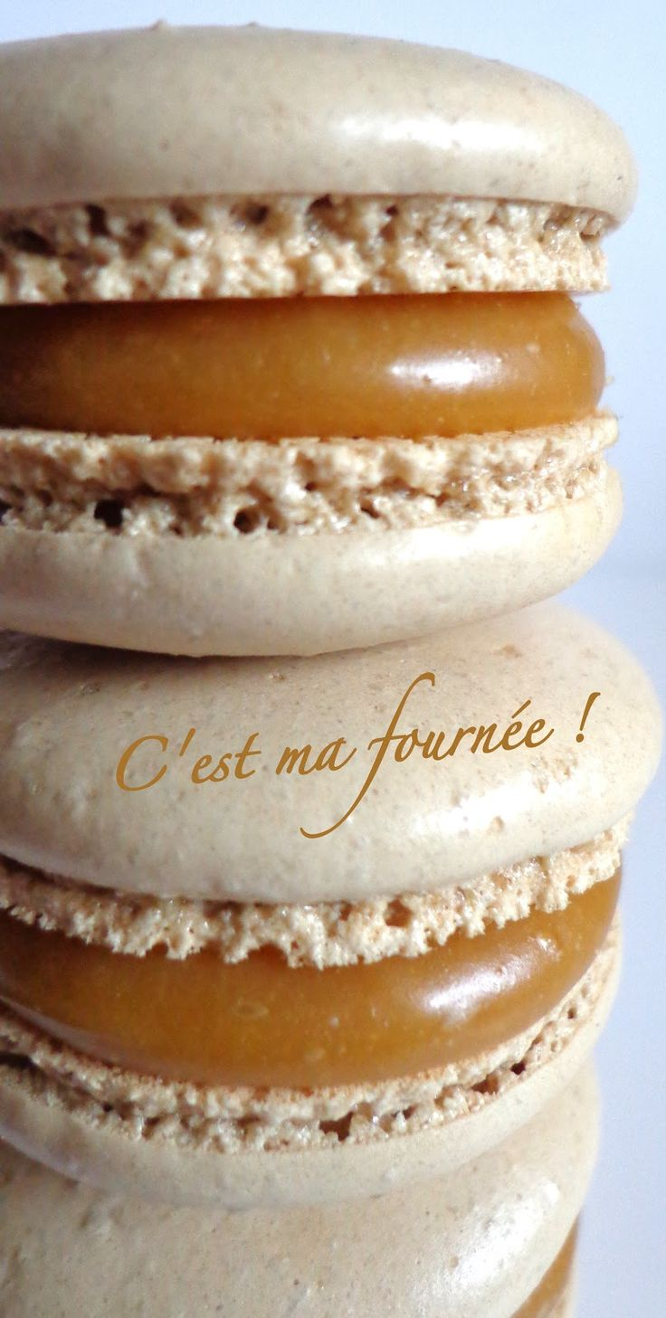 C'est ma fournée !: Macarons caramel beurre salé (Felder)
