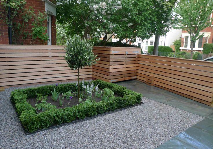 Garden Design For Front Garden Uniting The Contemporary (The Fence