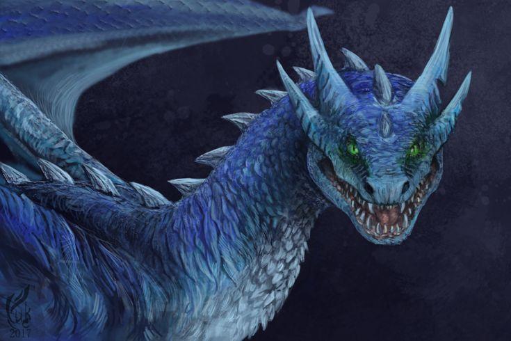 Commission dragon by Unycronk.deviantart.com on @DeviantArt