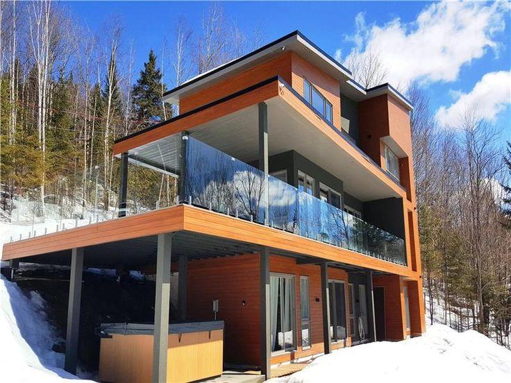 25 best Chalets images on Pinterest Chalets, Cottages and Lodges - tva construction maison neuve