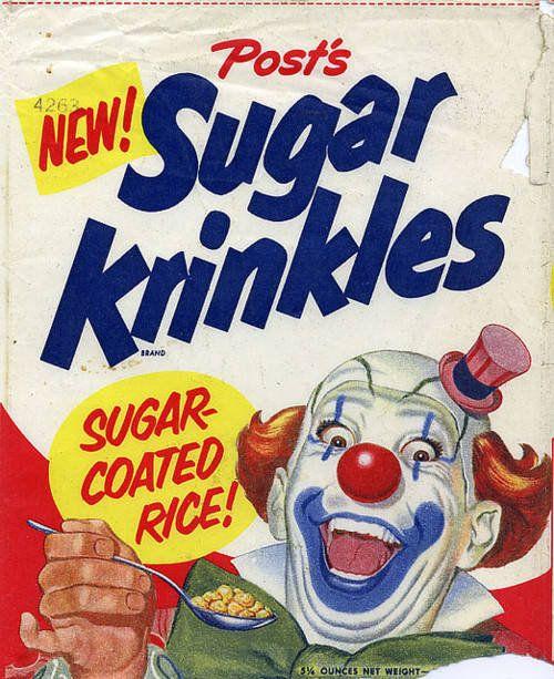 horrifying clown cereal