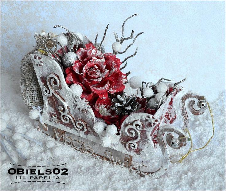 Sanie Świętego Mikołaja / Sleigh of Santa Claus