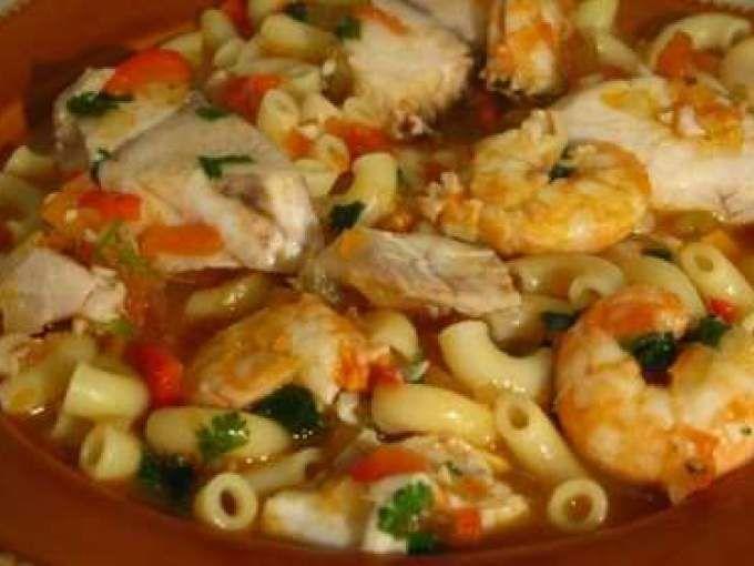 Receita Prato Principal : Massada de cherne com camarão de Turbolenta