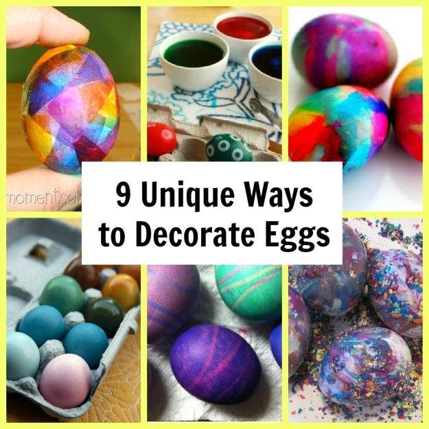 9 Unique Ways to Decorate Eggs