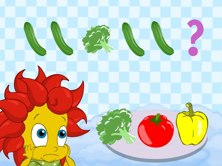 BreezyPals- Magical Vegetables game- Mathematical series , Early childhood development, Skills in children