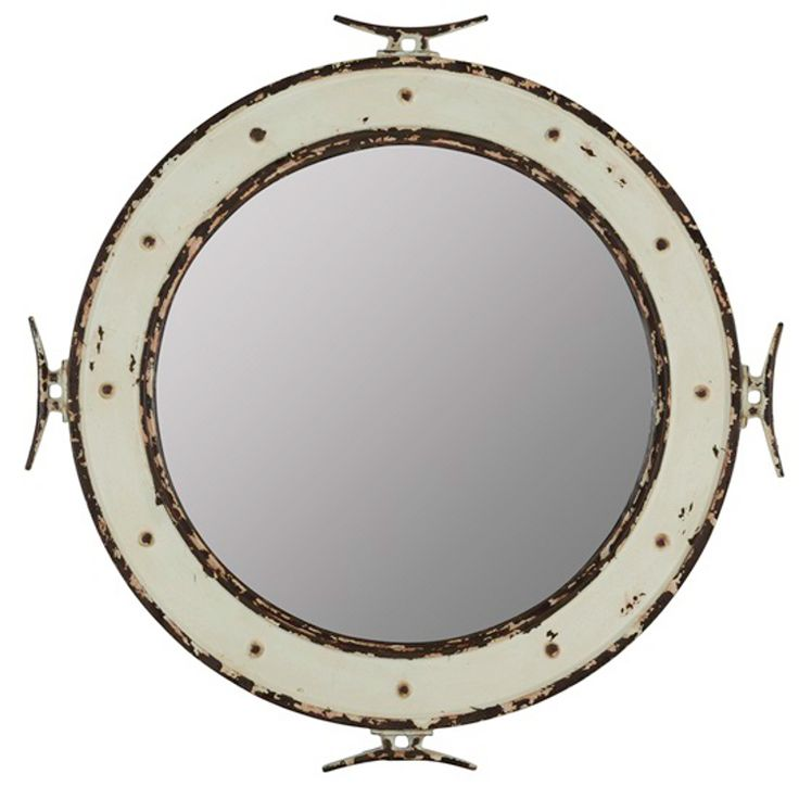 p this nautical round mirror will enhance any rooms dcor style type