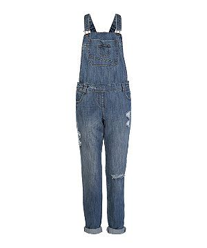 Denim full length dungaree