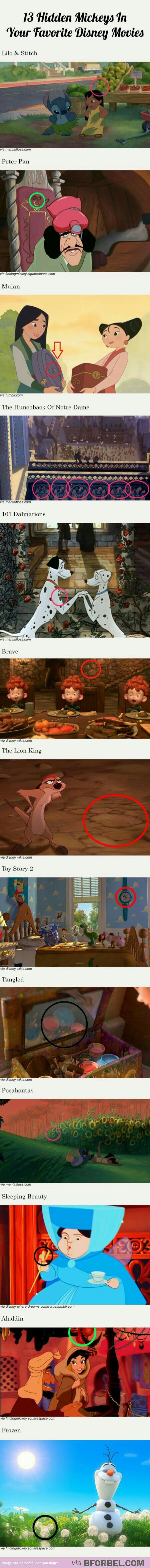 I'm pretty sure that some of these are coincidences. Unless if Disney is very good at hiding them.