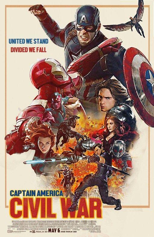 Captain America: Civil War fan art