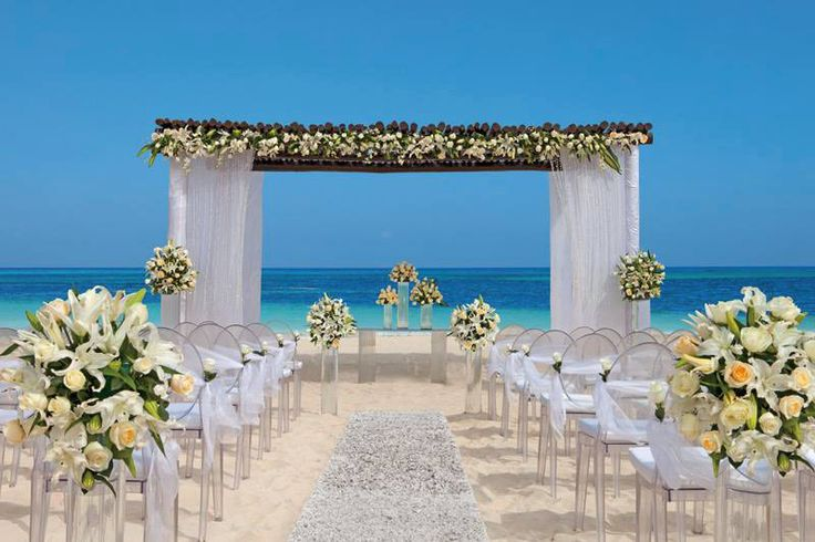 Create your favourite romantic secrets at #SecretsCapriRivieraCancun, surrounded by champage white sands kissed by azure blue waters ~ a perfect destination wedding venue! ~~ Discover more details at our free online #IDoMexicoWeddingPlanner for awesome planning resources like vendor speicalists, #BackstageWedding Hair & Makeup offer tips, advice and support to create your own beautiful beach wedding, #TrashTheDress and honeymoon! ~~ I Do Mexico / Riviera Maya Wedding Resorts & Hotels