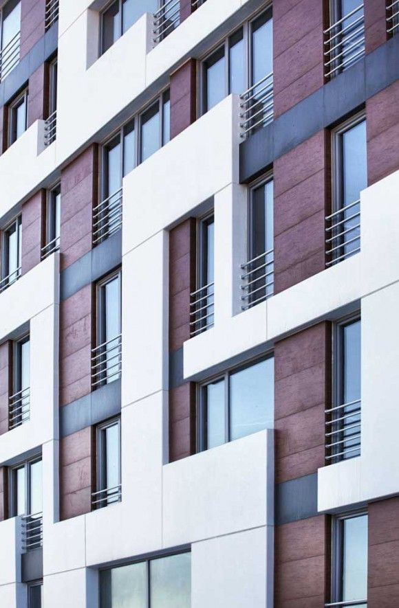 Miracle Residence facade detail