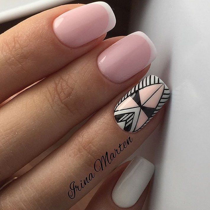 Ювелирная работа от @nails_irinamarten #nailworld_french #nailworld_manicure