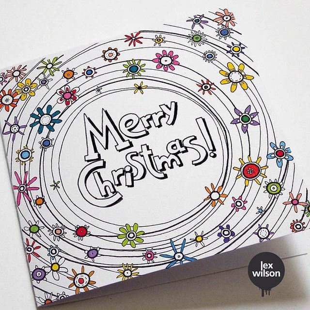 Cards I designed for 'Save the Children' charity. by Lex Wilson, via Flickr