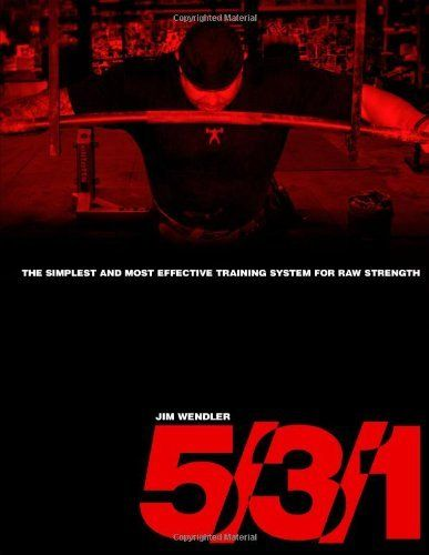 5/3/1: The Simplest and Most Effective Training System to Increase Raw Strength by Jim Wendler, http://www.amazon.com/dp/0557248299/ref=cm_sw_r_pi_dp_71pXrb0Y3M406