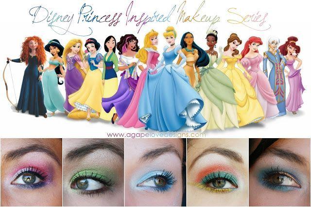 Agape Love Designs: Disney Princess Inspired Makeup Series