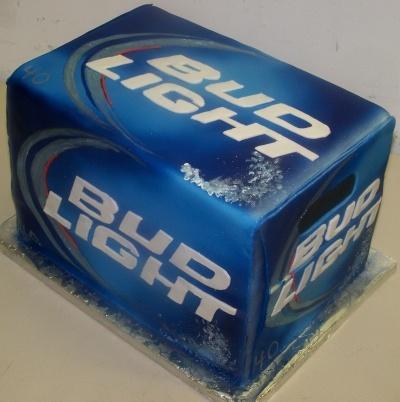 Bud Lite Box By Nixacakelady on CakeCentral.com
