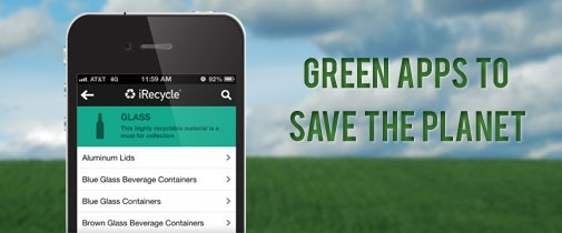Green apps to save the Planet - AppsNuke