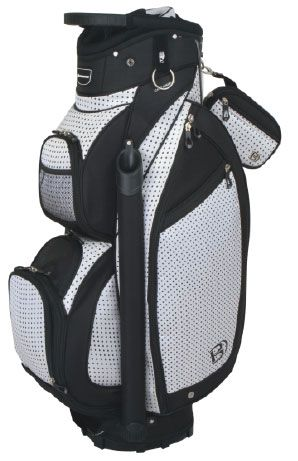 Looking for a new accessory to rock on the golf course? This lovely Dottie Miss Bennington Ladies Golf Cart Bag should be the one! #lorisgolfshoppe