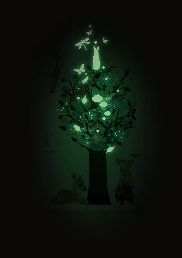 Világosban láthatatlan, sötétben világít – mi az? Foszforeszkáló festék a falon | Életszépítők