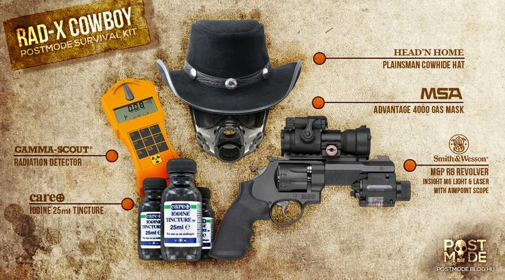 RAD-X COWBOY Survival Kit