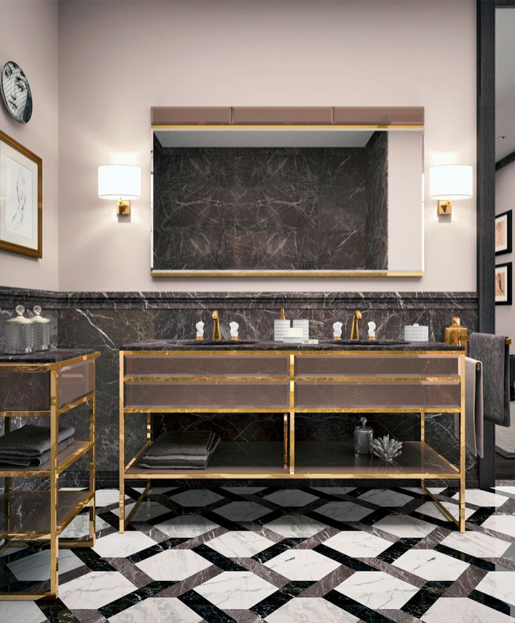 Academy Collection, designed by Massimiliano Raggi for Oasis Group. #interiordesign #luxury #bathroom
