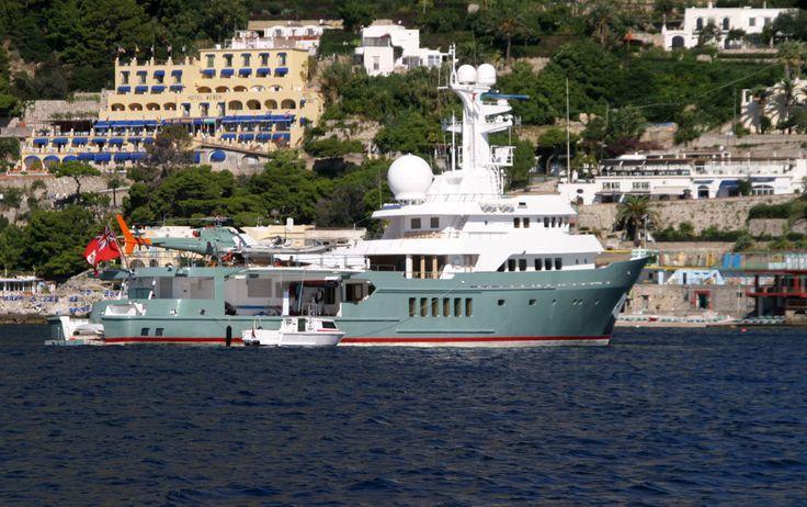 Large Boat, Marina Piccola, Capri, Campania, Italy www.italyunfettered.com