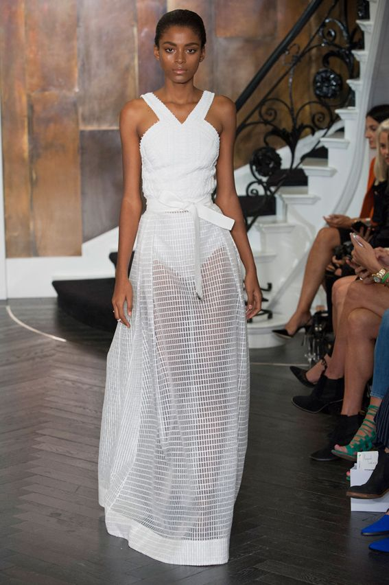 London FW S/S 2015 Amanda Wakeley. See all fashion show at: http://www.bookmoda.com/?p=32301 #spring #summer #ss #fashionweek #catwalk #fashionshow #womansfashion #woman #fashion #style #look #collection #london #amandawakeley @amandawakeley