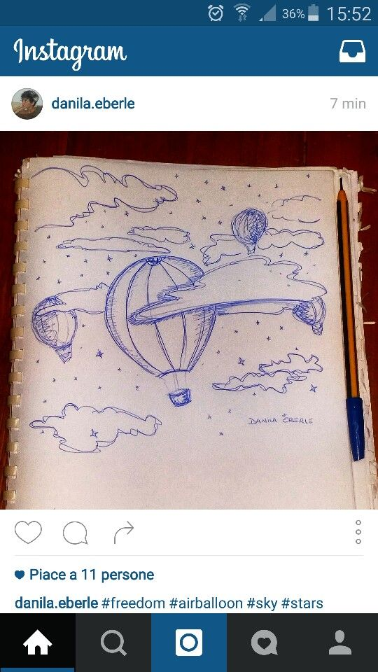 #freedom #airballoons #sky #stars #pen #hope #love   -Follow me on Instagram-