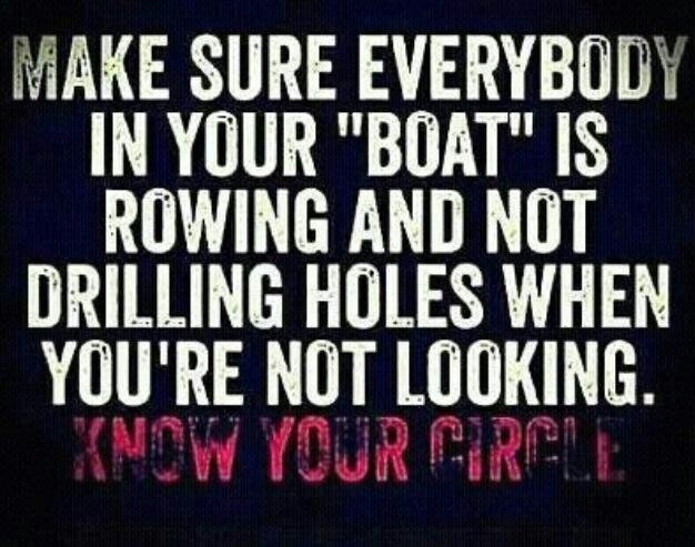 Know Your Circle! Surround Yourself With Positive & Good
