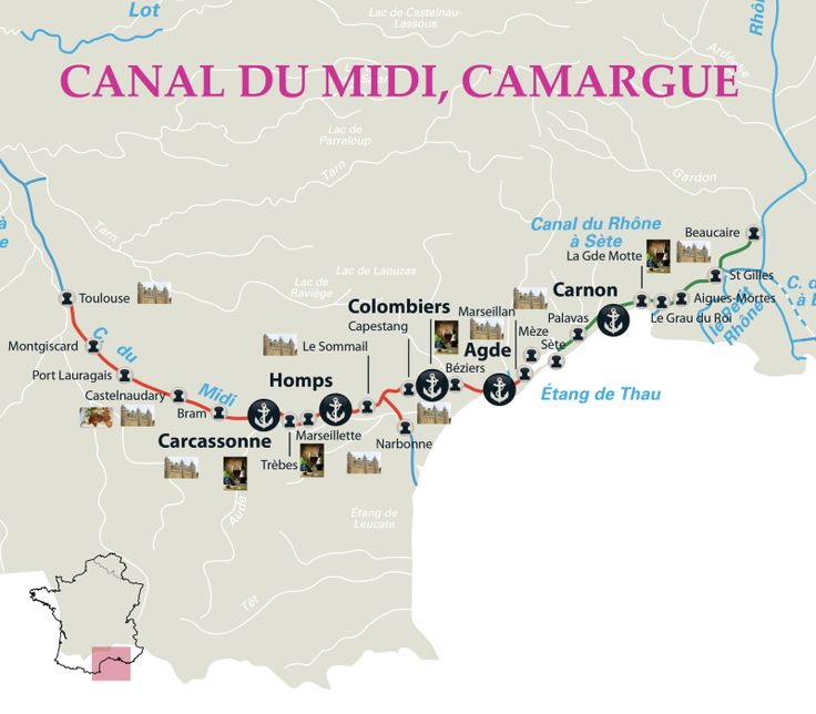 Canal Boating on the Canal du Midi - Cris Boat France