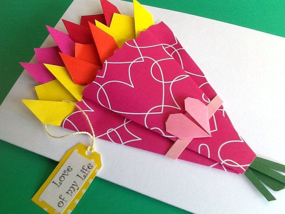 25 unique birthday cards for her ideas on pinterest diy for Romantic origami ideas